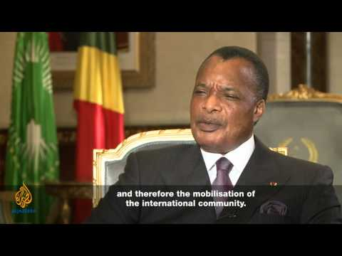 Denis Sassou N'Guesso: 'Under construction'