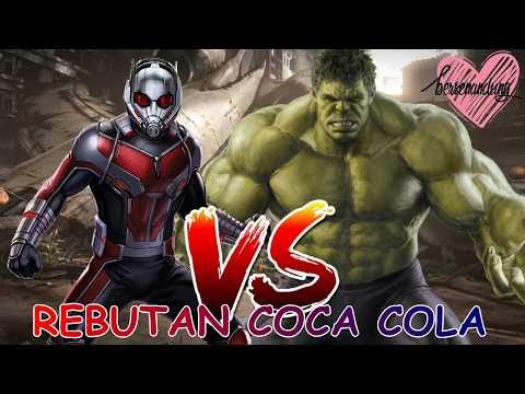 Hulk Vs Antman Rebutan Coca Cola (sub Indo)