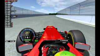 rFactor - Felipe Massa test Sochi F1 circuit