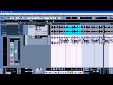 cubase sx 3 tutorial lesson 21 automation youtube rh youtube com Cubase SX Tutorial Nuendo vs Cubase