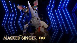 The Clues: Rhino | Season 3 Ep. 10 | THE MASKED SINGER