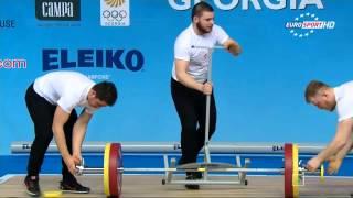 Тяжелая атлетика. Чемпионат Европы 2015 г. Женщины до 63 кг.