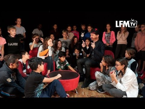 Interview Mathias Malzieu (Dionysos) et concert acoustique au lycée Franco-Mexicain