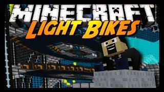 Minecraft: I DOMINATE LIGHT BIKES! w/ AntVenom & Friends!