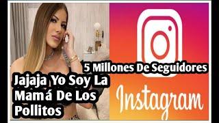 ALEXANDRA MVP LLEGA A 5 MILLONES DE SEGUIDORES EN INSTAGRAM SIN CANTAR SALVADOR PEREZ HACE RECORD.