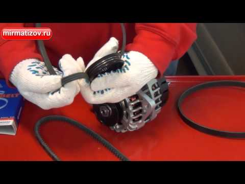 Замена генератора и ремня на Ниве Шевроле с фото и видео