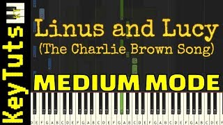 Video Learn to Play Linus and Lucy (The Charlie Brown Song) - Medium Mode download MP3, 3GP, MP4, WEBM, AVI, FLV Mei 2018