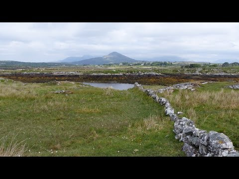Landscape - Road 340 to Carna - Connemara - County Galway - Ireland