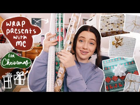 wrap presents with me & what I'm *giving* for Christmas this year (2020)