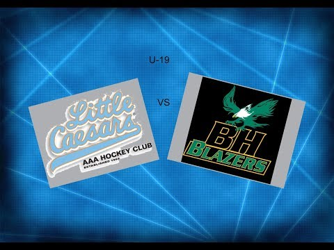 JWHL Little Caesars vs Balmoral Hall  U-19  2018  ( Mariucci Arena)