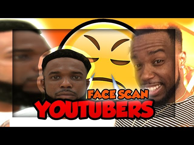 SCANNED BY 2K!! All 2k YouTubers Face Scan On NBA 2K19! Part 1