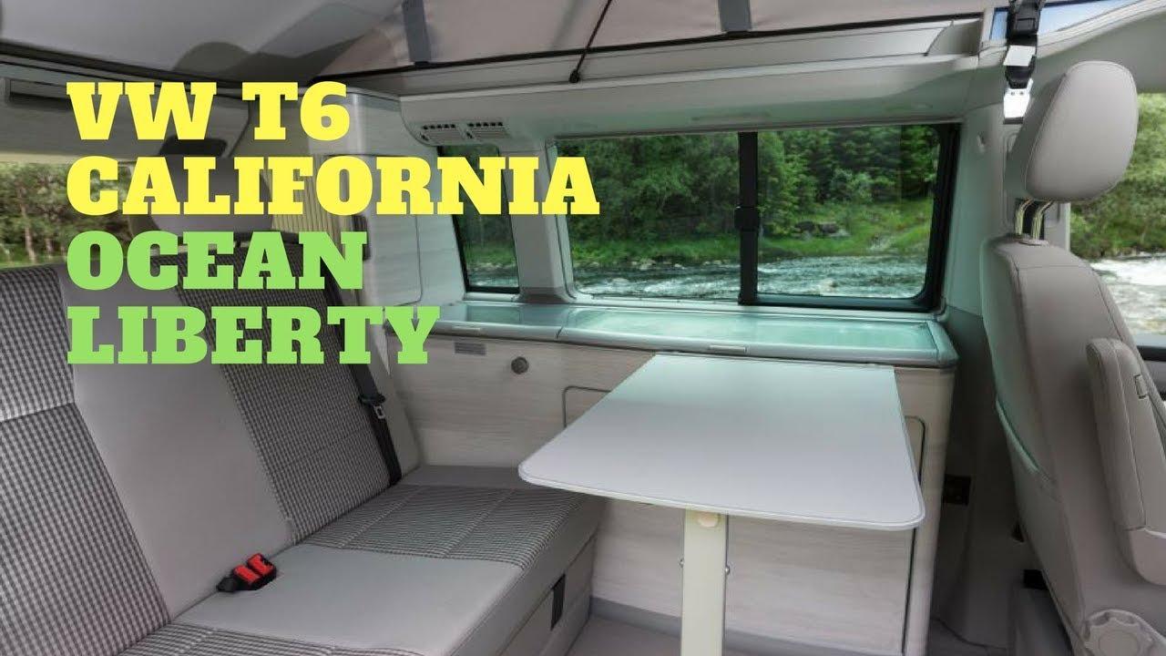 349aaf2d5c0e24 VW T6 California Ocean Liberty 2018 New - Review(NO TALK) - Interior -  Exterior✅