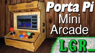Lgr - Porta Pi Desktop Arcade Cabinet