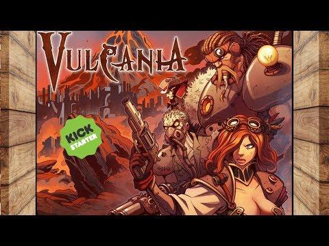 Vulcania - Il Gioco di Ruolo Steampunk!