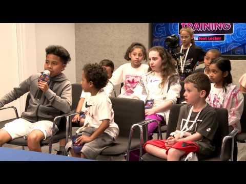 Kids Foot Locker x Ben Simmons x Buddy Hield x Marquese Chriss x Jakob Poeltl - Media Training
