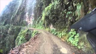 ДОРОГА СМЕРТИ. БОЛИВИЯ(Путешествие по Южной Америке на мотоцикле в 2013 году Боливия. Дорога Camino de los Muertos., 2014-03-22T10:00:16.000Z)