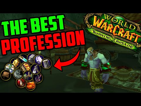 Profession Tier List for Goldmaking in TBC Classic