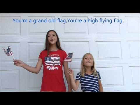 4th of July Patriotic Singing- Grand Old Flag!