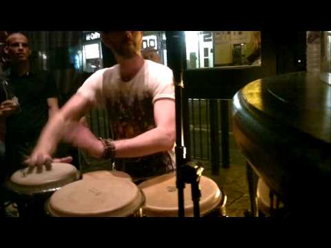 House Music & Percussion // Nick Fisher & Ryan Desty @ Longs Bar, Swindon. March 2011