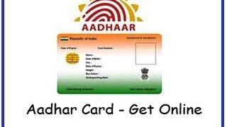 How to download / apply for Aadhaar Card Online 2017