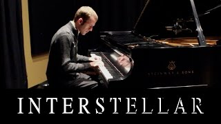 Interstellar Soundtrack Main Theme Piano - Hans Zimmer + Tutorial - Jason Lyle Black