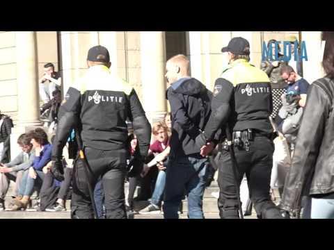 Aanhoudingen na afloop voetbalklassieker in centrum Rotterdam