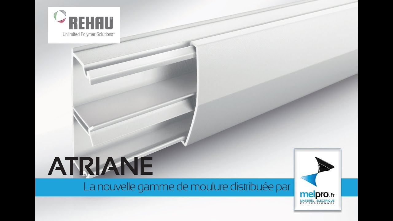Nouvelle moulure rehau atriane chez melpro youtube for Moulure pvc fenetre