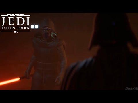 Kylo Ren vs Darth Vader - Star Wars Jedi: Fallen Order Ending (Mod) |