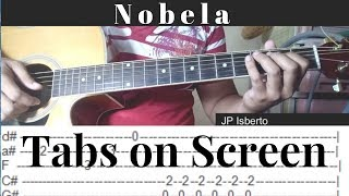 Nobela - Join The Club - Fingerstyle Guitar Cover - Tabs on Screen
