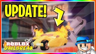 🔴 INCREDIBLE JAILBREAK NEW GARAGE CUSTOMIZATION UPDATE RELEASING TOMORROW! | Roblox LIVE 🔴