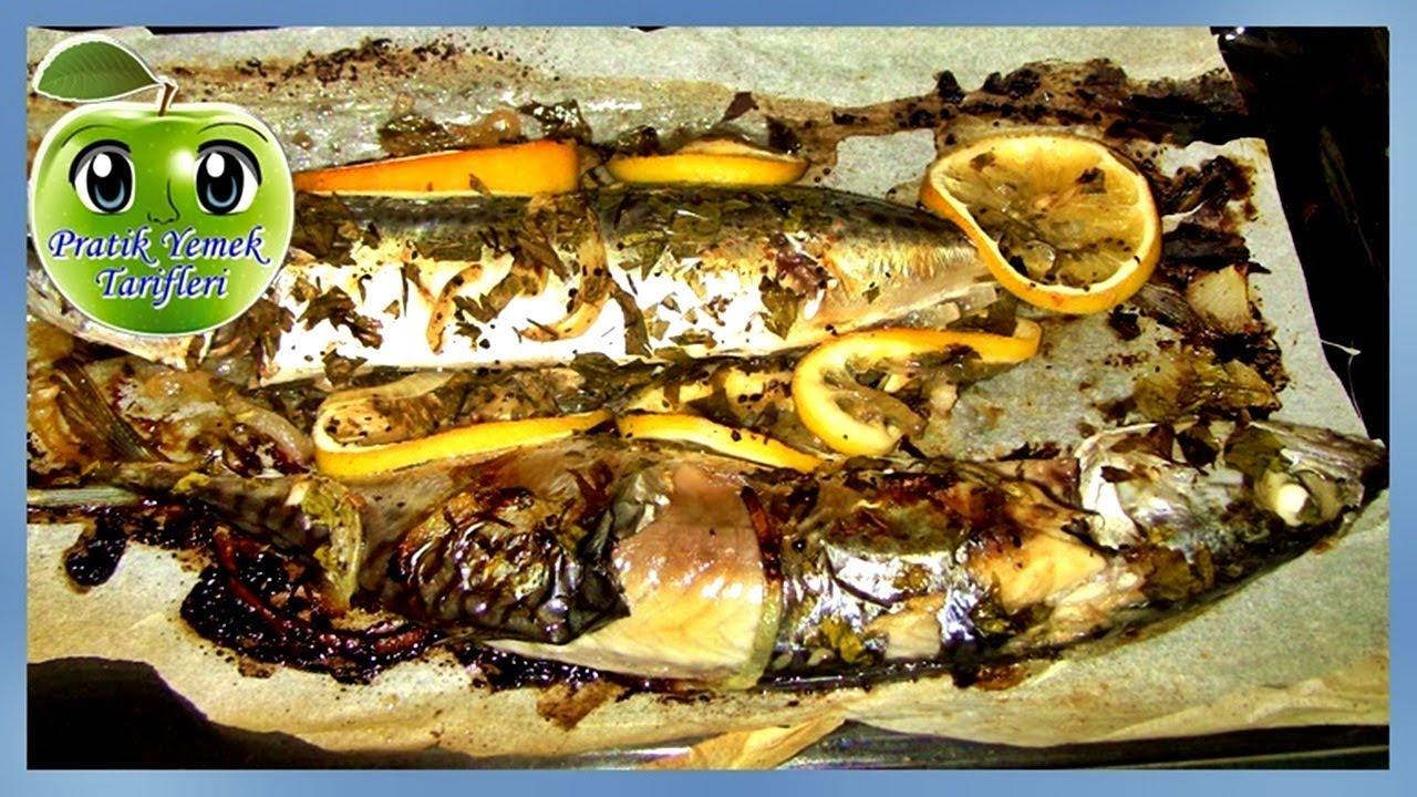 Kağıtta Uskumru Tarifi - Fırında Balık Nasıl Pişirilir - Pratik Tarifler