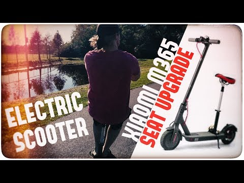 ✔ RIDE IN STYLE! | Xiaomi M365 Electric Scooter Seat Upgrade Add-on