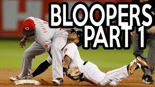 MLB: Funny Baseball Bloopers of 2016, Part One (HD)