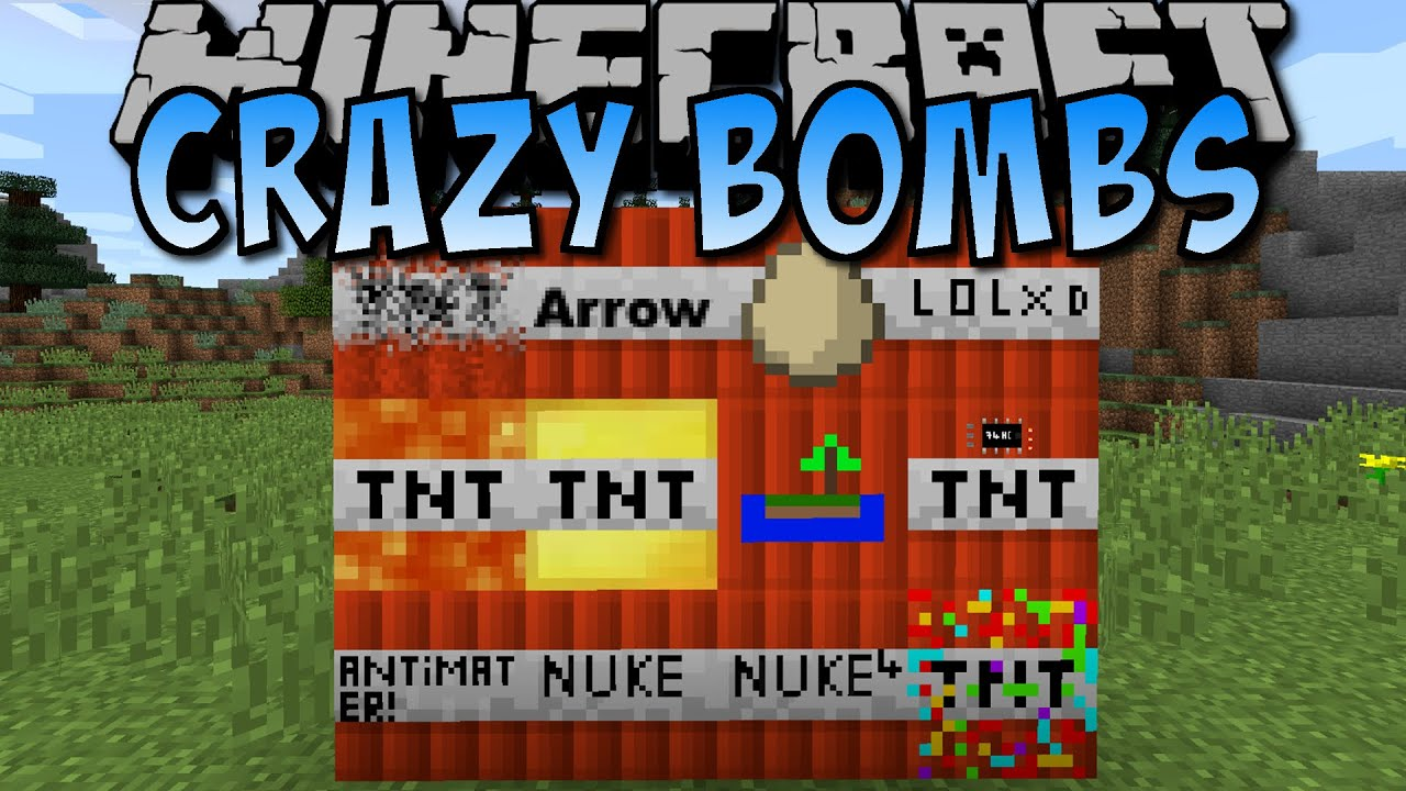 Minecraft CRAZY TNT MOD Nuke IslandTNT Deutsch YouTube - Minecraft spiele mit tnt