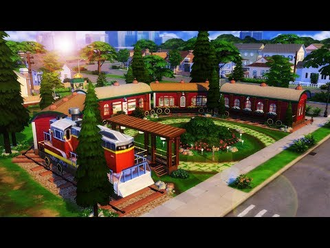 CASA LOCOMOTIVA (Train House) │The Sims 4 (Speed Build)