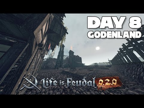 Life is Feudal MMO 0.2.0 | Day 8-9 | We've poked the hornets nest and they won't stop
