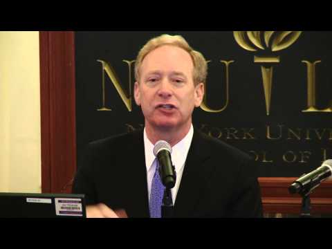 The Forum: The Future of Privacy: A Discussion with Microsoft General Counsel Brad Smith