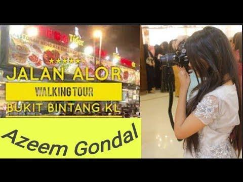 Kl walk, jalan Alor night food street ,Malaysia tour vlog ,cheap food Malaysia thumbnail