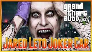 Gta 5 Online - Super Villian Paint Job, Suicide Squad, Jared Leto Joker Car Custom Paint Job Guide