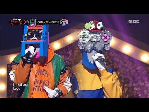 [King of masked singer] 복면가왕 - 'Game manager' VS 'Gameboy' 1round - Aspirin 20180401
