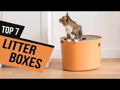 BEST LITTER BOXES! (2020)