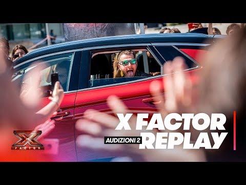 X Factor 2018 replay: Audizioni 2