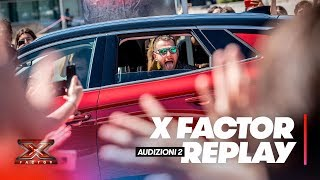 X Factor 2018 replay: Audizioni 2