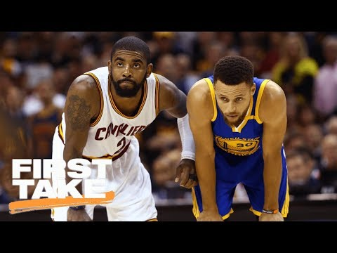 Kyrie Irving Laughing At Steph Curry Making Fun Of LeBron James Is A Big Deal | First Take | ESPN
