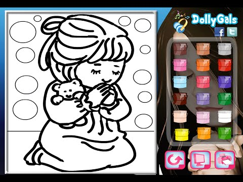 Praying Coloring Pages For Kids - Praying Coloring Pages