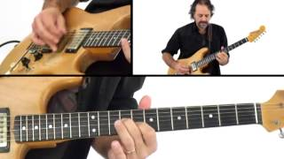 Jam Night - #87 Lead Performance - Blues Guitar Lesson - Andy Aledort