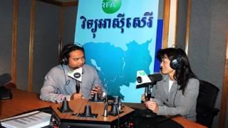 RFA Khmer News on 18 Octorber 2015,សម្ភាសប្រធានចលនាស្ត្រីបក្សសង្គ្រោះជាតិនៅអាមេរិកពីយុទ្ធស
