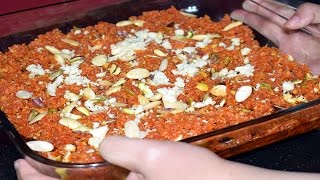 Gajar Ka Halwa Recipe  Carrot Halwa Recipe  Easy Indian Dessert