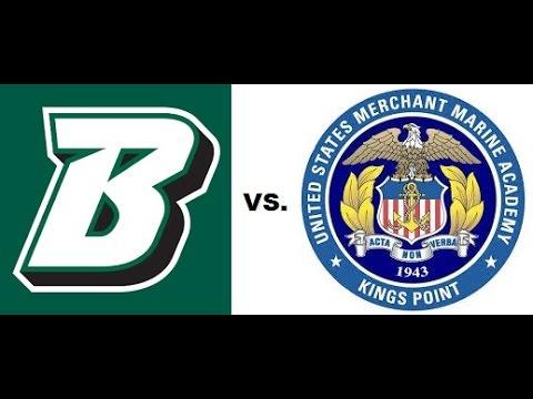 Binghamton vs USMMA (A Side) October 1, 2016