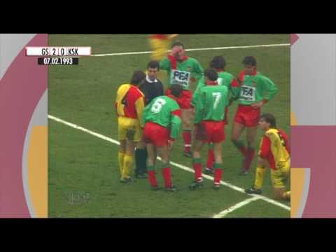 Nostalji Maçlar | 1992-1993 Sezonu Galatasaray 4 - 1 Karşıyaka